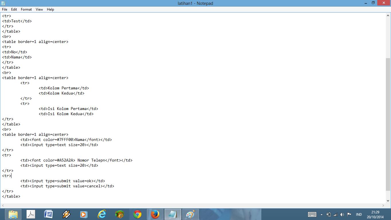 Contoh Html Marquee - Toko FD Flashdisk Flashdrive